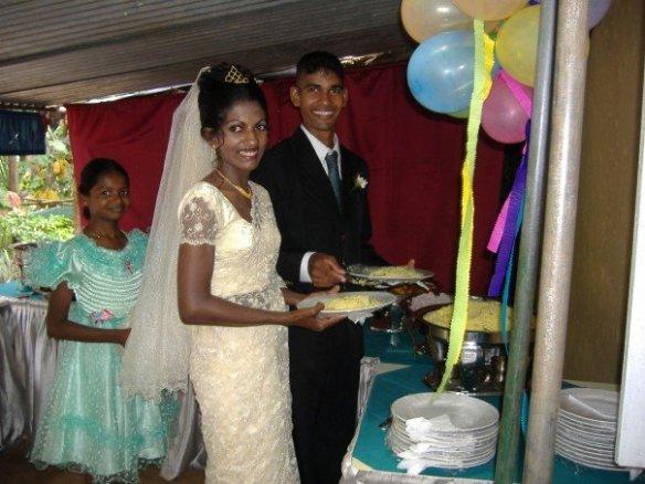 The Sri Lankan smile_my friends on their wedding day, em12